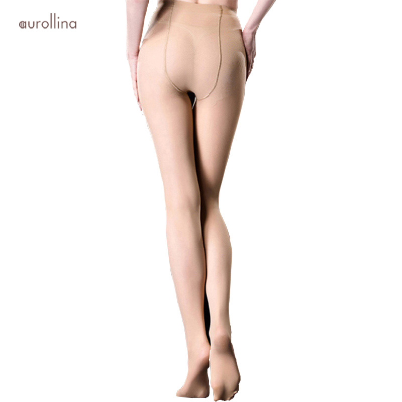 Semi-Opaque Support Pantyhose 40D Compression Panythose 6030 (1)