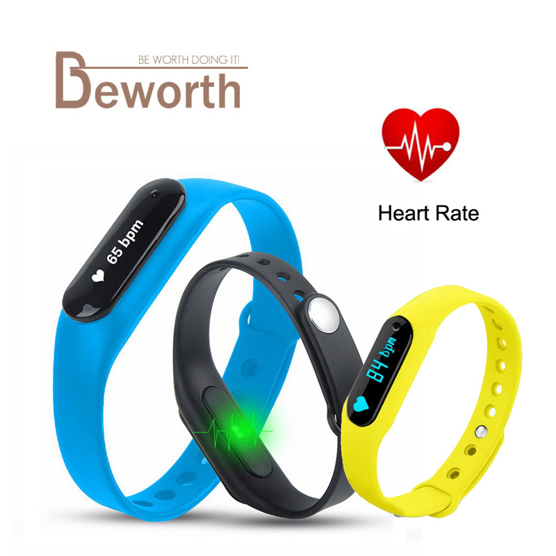 Smartband C6 Bluetooth Smart Band Bracelet Heart Rate Fitness IP65 Waterproof Wristband Watch For IOS Android