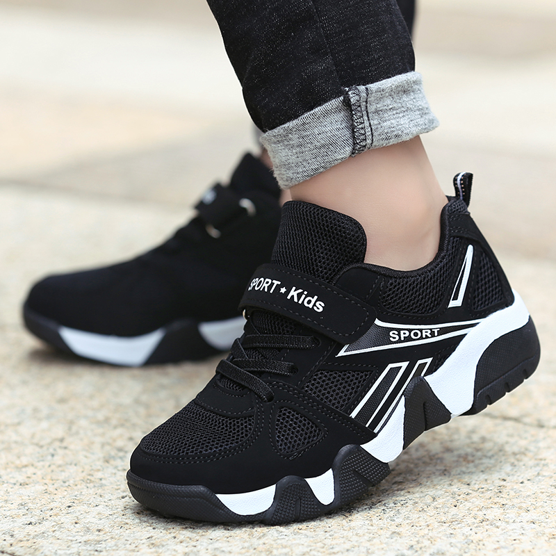 2019 Autumn Children Shoes Fashion Brand Boys Sports Shoes Casual Kids Sneaker Outdoor Training Breathable Boy Shoes 968 in Sneakers from Mother Kids