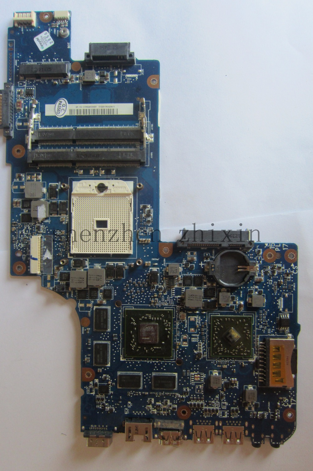 все цены на  For Toshiba satellite L855D C855D C850D Laptop motherboard H000052650 STOCKET FS1 DDR3 non-integrated with graphic full test  онлайн