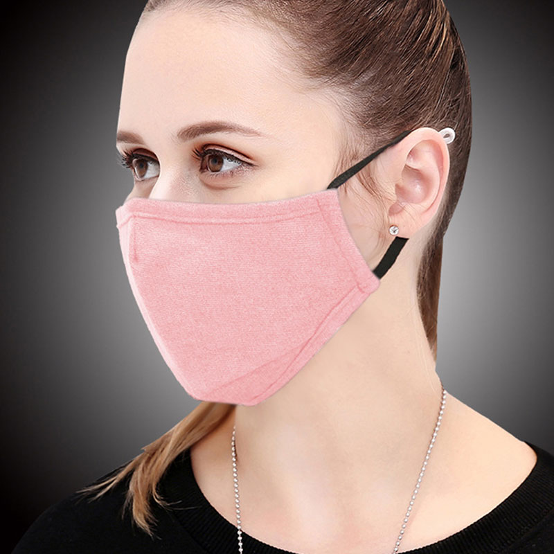 Women's Accessories 1pcs Cotton Pm2.5 Black Mouth Mask Anti Dust Mask Activated Carbon Filter Windproof Mouth-muffle Bacteria Proof Flu Face Masks With Traditional Methods Women's Masks