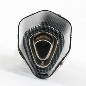Image 3 - Universal 38~51mm Motorcycle Exhaust Muffler with DB Killer Stainless Steel For Scooter Dirt Bike Muffler Pipe YZF600 R6