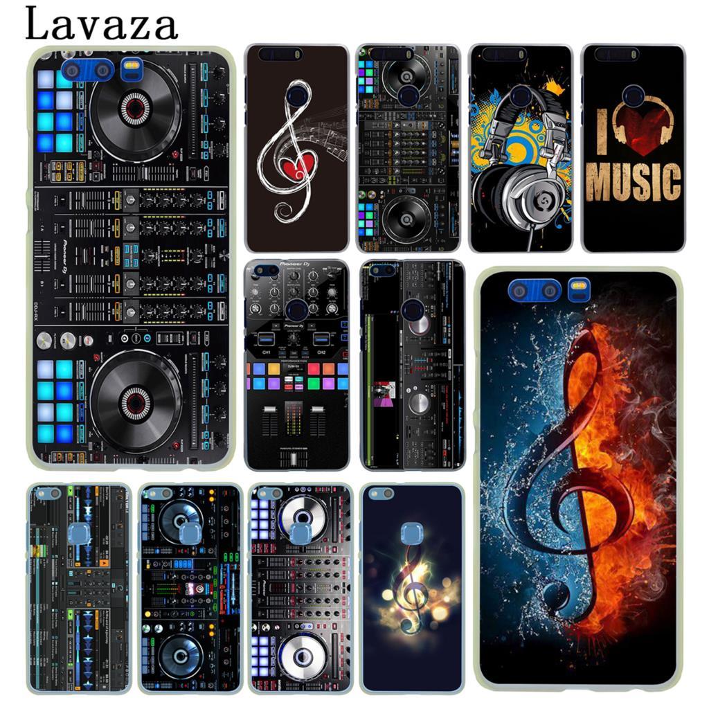 Lavaza ddj dj music Hard Phone Case for Huawei Y6 Y5 Y3 II Y7 2017 Nova 2 Plus 2S 2i Honor 9 8 Lite 6 6A 6X 7 7X Cover