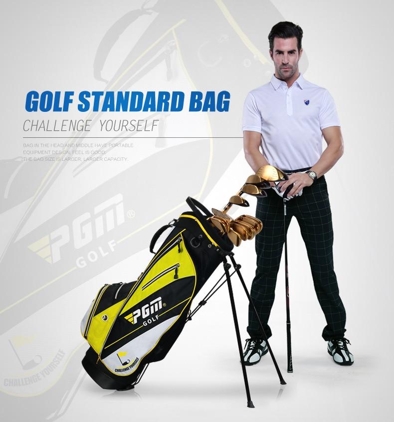 Les fabricants ont adapté le nouveau sac de support de golf de PGM les hommes et les femmes tiennent l'édition portative d'ultraportabilité - 5