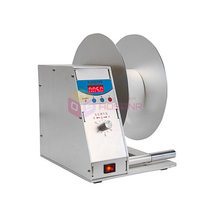 New Digital Automatic Label Tags Rewinder Adjustable Speed Rewinding Machine 110V 220V