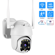 1080P PTZ IP Camera Wifi Outdoor Speed Dome Wireless Wifi Security Camera Pan Tilt 4X Digital Zoom Network CCTV Surveillance yi 1080p dome camera night vision international version pan tilt zoom wireless ip security surveillance yi cloud available