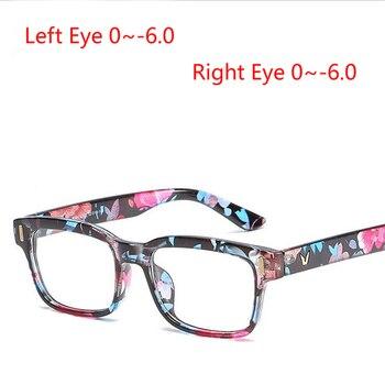 e94854d4fd Gafas de miopía cuadradas para hombre de lentes asféricas de 1,56 con  montura de PC