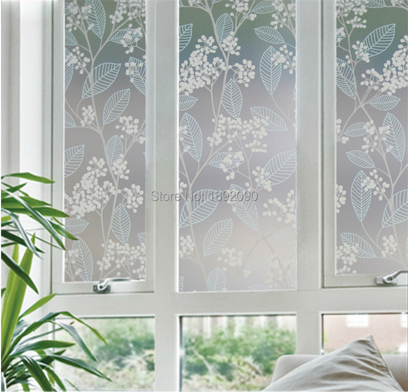 60200cm privacy stained decorative window film opaque glass sticker pegatinas para ventanas privacidad - Decorative Window Film