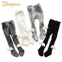 Moda asas do bebê collants para meninas meninos crawl joelho protetor collants crianças meias de algodão meninas 1 pc