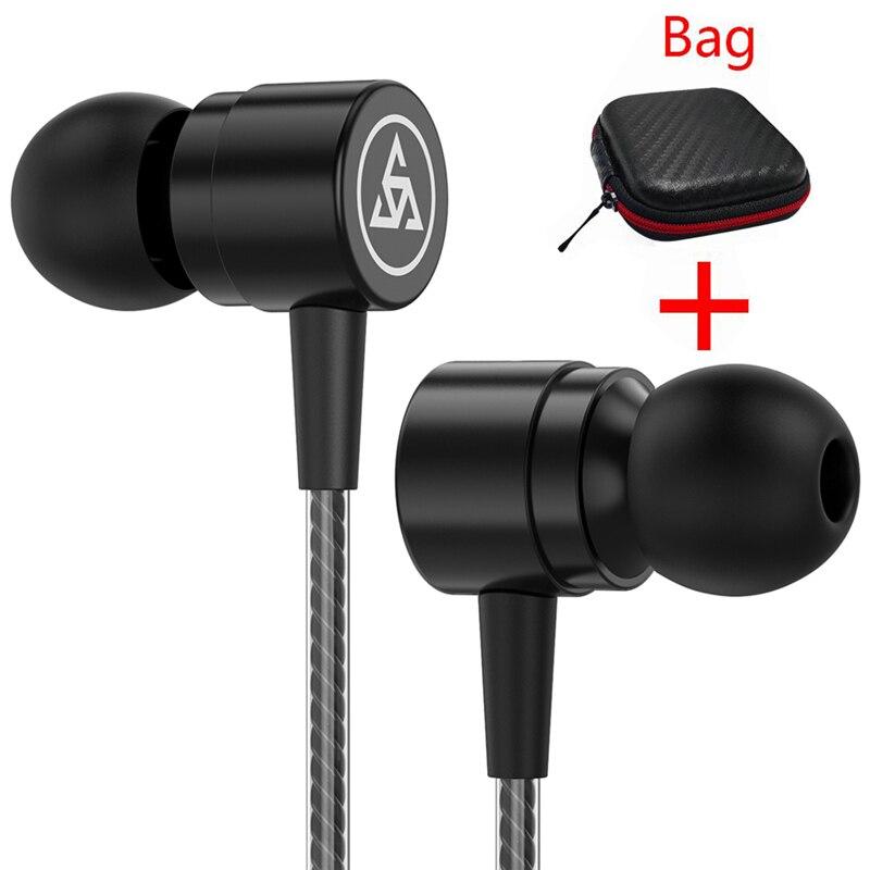 Simvict New Super Bass Sport Earphone In-ear Headphones With Mic Handsfree Headphones for