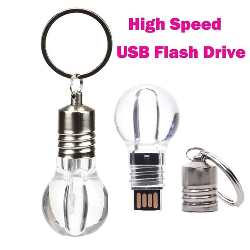 Light Bulb Shaped U Disk Key Memory Stick Usb 3.0 Waterproof Usb Flash Drive 64GB Pendrive 128gb 16GB 8GB 4GB 32GB Pen Drive
