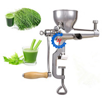 Manual wheat grass juicer fresh apple orange wheatgrass juice squeezer health kitchen tools extractor