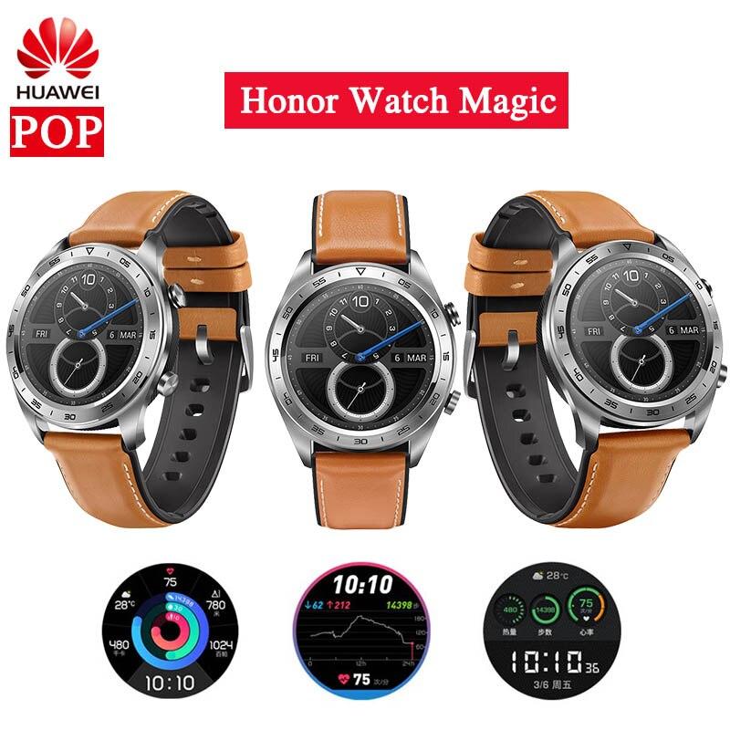 Original Huawei Honor Watch Magic Sport Sleep Run Cycling Swimming mountain GPS Long Battery Life 1