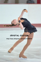 Crystal Custom Figure Skating Dress Girls New Brand Ice Skating Clothes For Competition DR4604