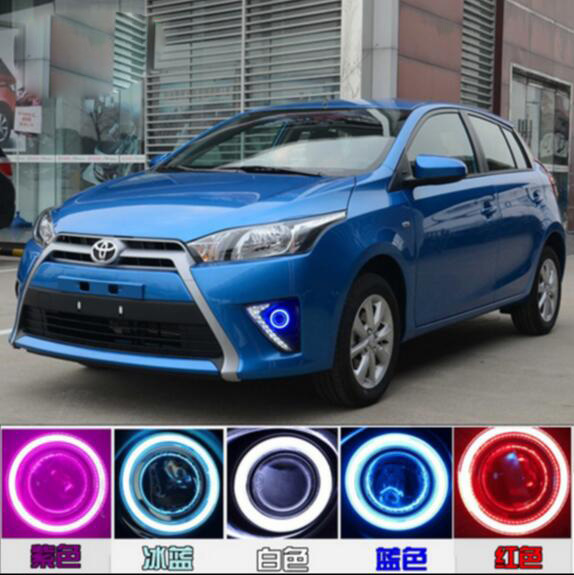 Yaris fog light LED,2014~2016;Free ship!Yaris daytime light,2ps/set+wire ON/OFF;optional:Halogen/HID XENON+Ballast,Yaris alto fog light 2014 2016 free ship alto daytime light 2ps set wire on off halogen hid xenon ballast alto