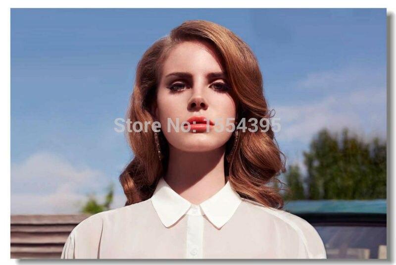 e42806368d57f Custom Lana Del Rey 3 Girl Classical Poster Fashion Stylish Home Decor Retro  Bedroom High Quality