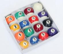 For Children 38mm 16Pcs/set Complete set of balls Pools American Billard Ball Durable Resin Billiards
