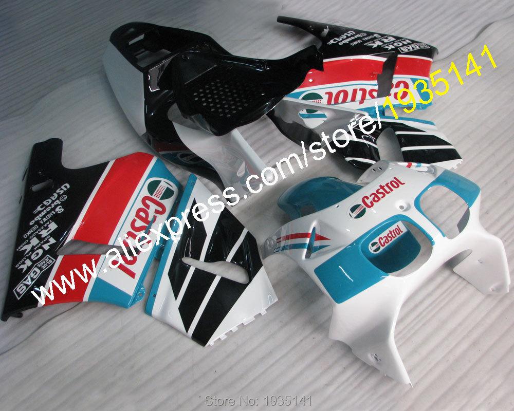 Hot Sales,Castrol motorbike kitFor Honda RVF400R MC35 1994-1998 RVF35 RVF 400 R NC35 94 95 96 97 98 Motorcycle bodyworks Fairing