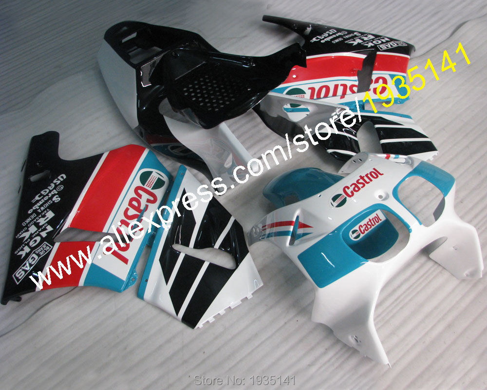 Hot Sales,Castrol Motorbike For Honda RVF400R MC35 1994-1998 RVF35 RVF 400 R NC35 94 95 96 97 98 Motorcycle bodyworks Fairing