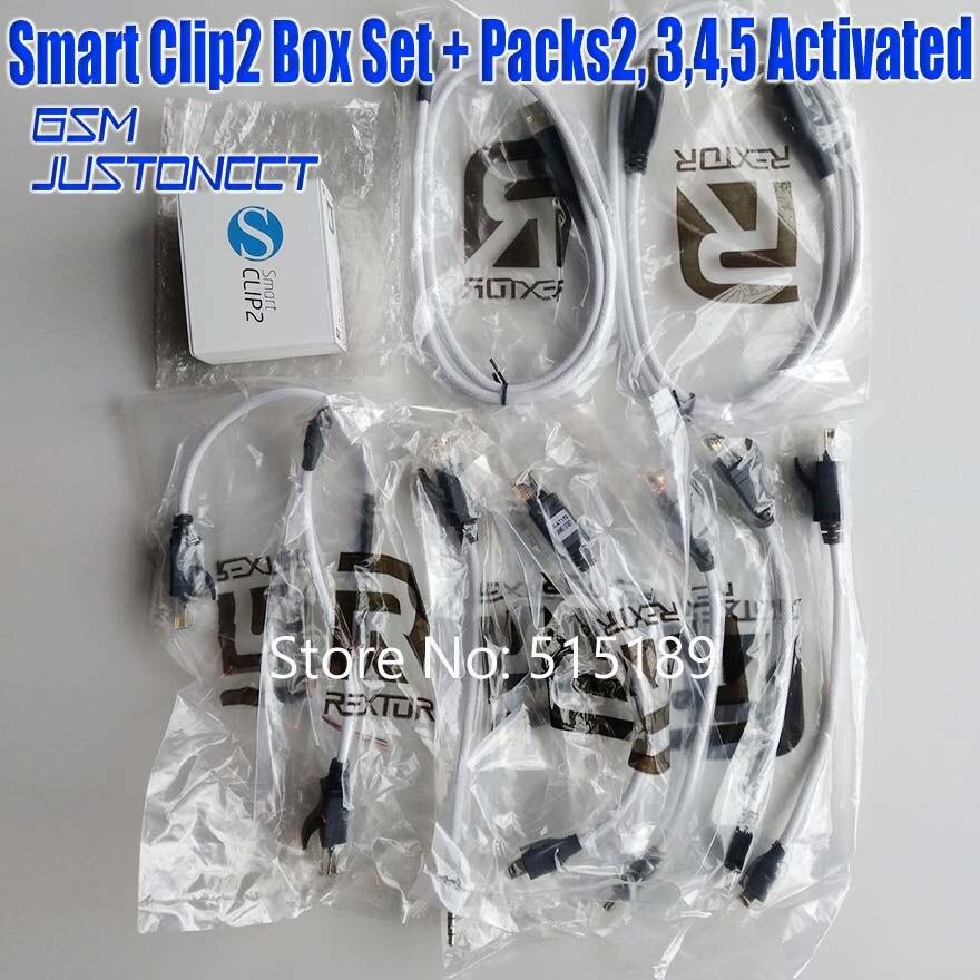 Smart Clip 2 Box  Full Set ( Basic + Packs2, 3, 4,5 Activated ) For Motorola&Alcatel&Acer&&Huawei&ZTE& Vodafone& For Lenovo