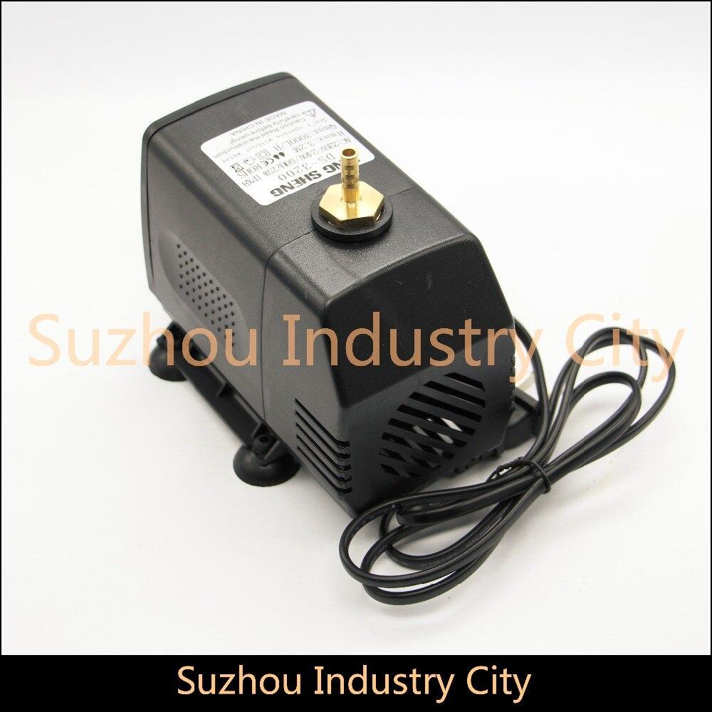 все цены на Water Pump 85w 220V Brushless Motor pump max Head 4m max flow 4000L/H Multi-function submersible pump