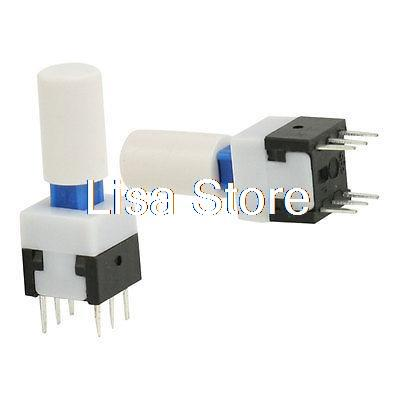 10 x 12x12x13mm Momentary Push Button Tactile Switch PCB Mounted SPST