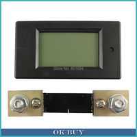 10Pcs Lot DC6 5 100V 100A DC Digital LCD Multi Functional Electric Energy Meter Module With