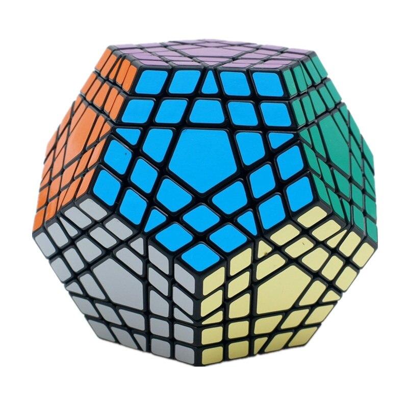 Shengshou Wumofang 5x5x5 Cube magique Megaminx Gigaminx 5x5 professionnel Dodecahedron Cube Twist Puzzle apprentissage jouets éducatifs - 5