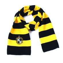 HOMOD Hight Quality Hary Potter Scarf Scarves Gryffindor,Slytherin,Hufflepuff,Ravenclaw Pendant Necklace For Kids Gift