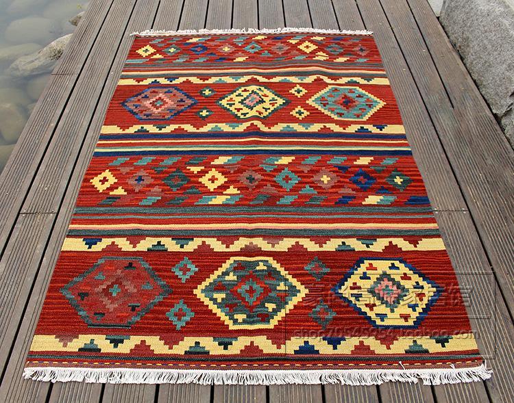 Турция экзотические национальные ветер чистой шерсти ручной работы высокого класса ковер гостиной спальня журнальный столик ковер 66gc154yg4
