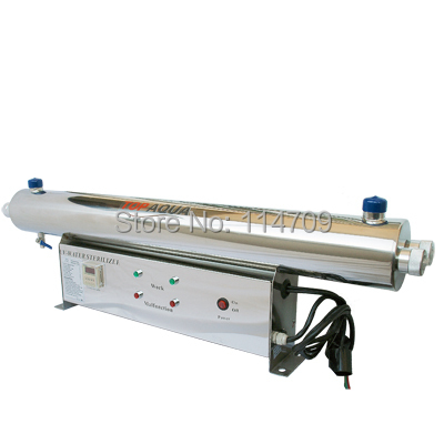 цена на SS304 24 gpm UV Sterilizer Disinfection System SBV-5925-2P CE, RoHS for Water Purification