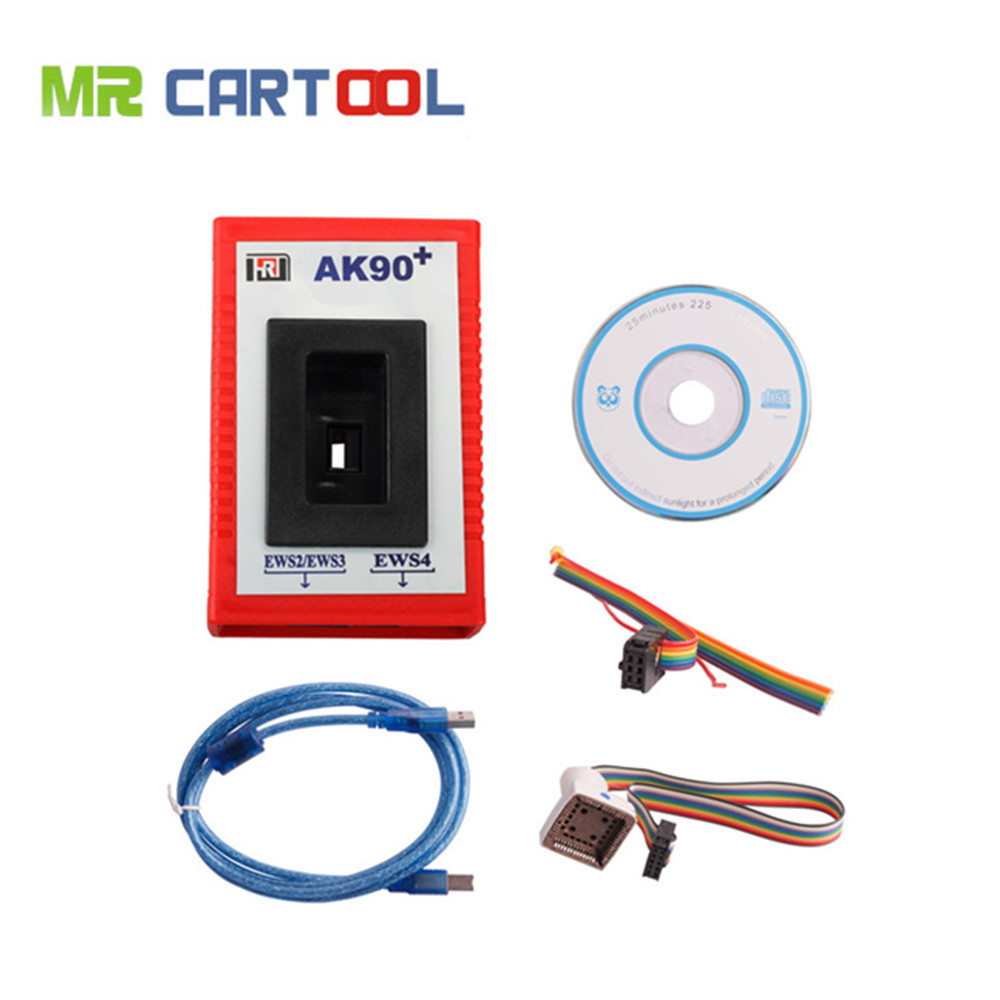Top-rated Free Shipping AK90+ Key Programmer car key code reader v3.19 newest version for bmw cars Ak90(wholesale/retail) 2016 new arrival key replacement for mercedes benz ak500 key programmer external hdd 320g free shipping