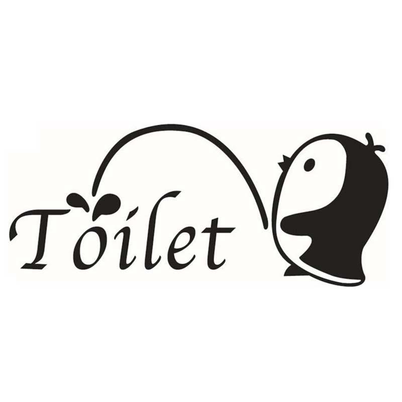 Schön Aufkleber Für Bad Abnehmbare DIY Wandaufkleber Für Badezimmer Dekoration  (kleinen Pinguin)(China (