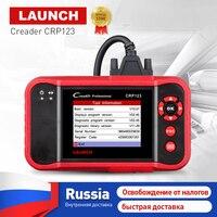 Launch Сreader crp123 профессиональный авто читальный инструмент кодов автомобиля диагностический инструмент launch x431 crp 123 OBD2 EOBD сканер