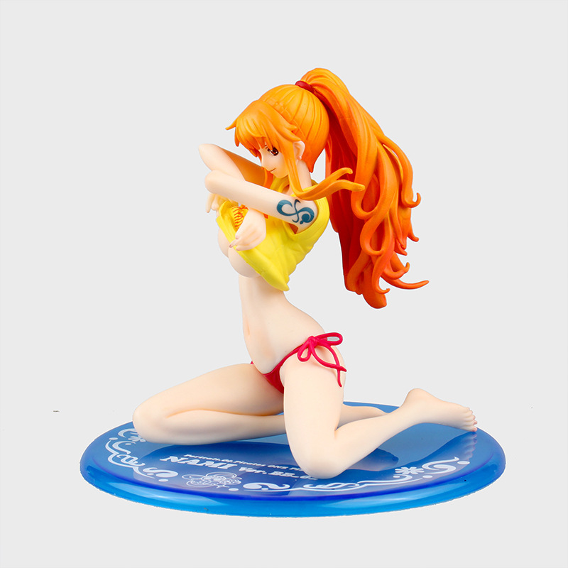 SAINTGI One Piece Nami BB 2.0 Sexy Bikini Swimsuit MH POP Anime PVC Figure New World 2 years later Straw Hat Pirates collection