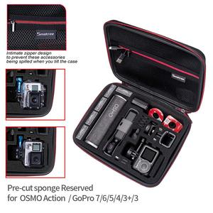 Image 3 - Smatree Hardshell Osmo Pocket Accessories Storage Case for DJI Osmo Pocket/Osmo Aaction/Gopro Hero 8,for Charging Case