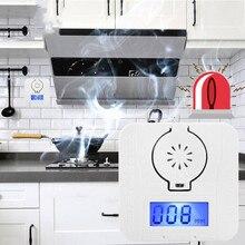 Угарный газ Co2 Предупреждение ющий датчик температуры ЖК-дисплей