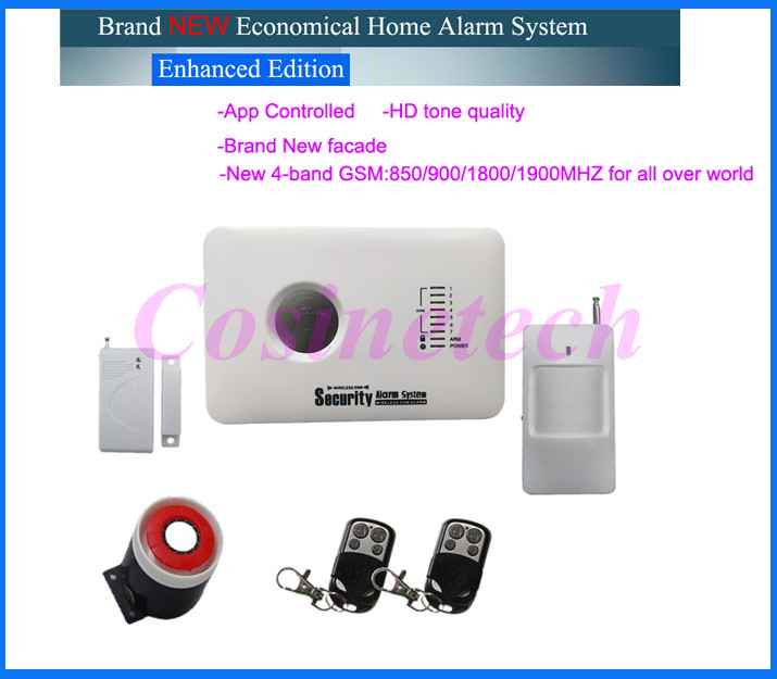 315/433MH GSM alarm system Voice clarity alarm system with APP control3 wired and 70 wireless defense zones Burglar Alarm System digital clock display gsm burglar alarm system 120 wireless defense zones and 2 wired zones
