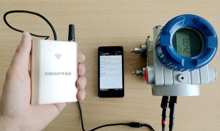 i595 wireless handheld hart communicator wifi hart475 hart 475 in temperature instruments from