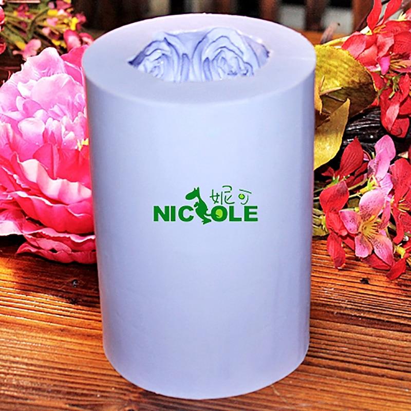 Molde de silicona Nicole para la vela de jabón hecha a mano que hace - Cocina, comedor y bar - foto 5