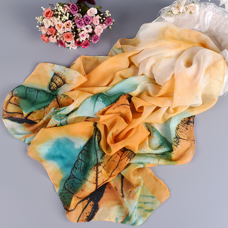 Silk scarf female scarf long design air conditioning cape silk scarves shawl
