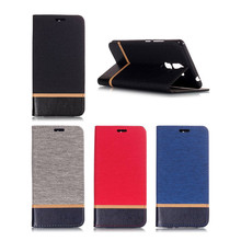 цена на For Coque Nokia 7 Plus phone case PU+TPU Cover Wallet Canvas Flip Card Slot Stand Leather Case for Nokia7 Plus phone bag Fundas