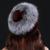 Mulheres Chapéus de Inverno 2016 Gorro de Malha Com Pele De Raposa das Mulheres Personalizado Chapelaria Chapéu de Pele de vison Chapéu Das Mulheres do Sexo Feminino Casual