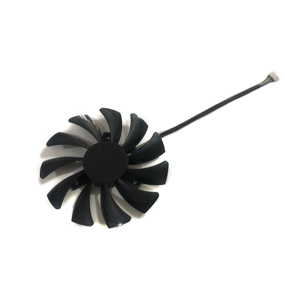 85mm 4pin HA9010H12SF-Z Cooler Fan Replace for MSI RX460 4GB Inno3D P106 960 GeForce GTX 1060 AERO ITX 3G 6G OC Video card image