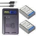 Doscing 2x BLN-1 PS BLN1 PS-BLN1 батарея + ЖК-зарядное устройство USB для Olympus OM-D E-M1 Mark II E-M5 PEN-F EM1 EM5 PENF EP5