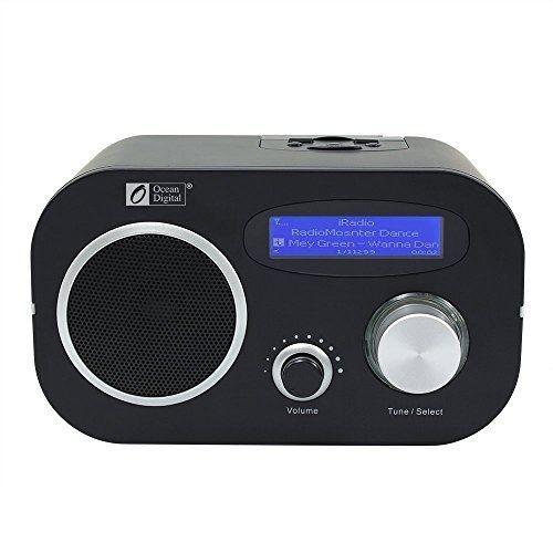 Ocean Digital Internet Radio WR80 Wi-Fi Wireless Wlan Приемник Ethernet FM