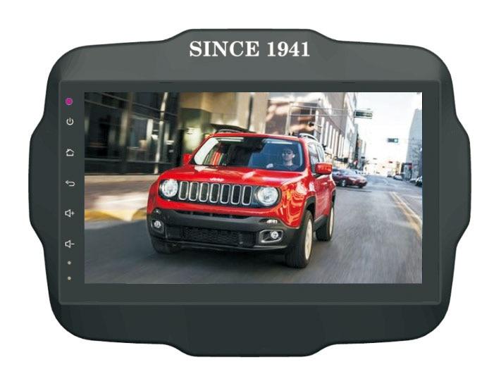 Quad Core 9 &#8220;Android 6.0 dvd-плеер автомобиля для <font><b>Jeep</b></font> Limited/Renegade 2016 Авто GPS штатные 3 г DVR Радио Стерео магнитофон