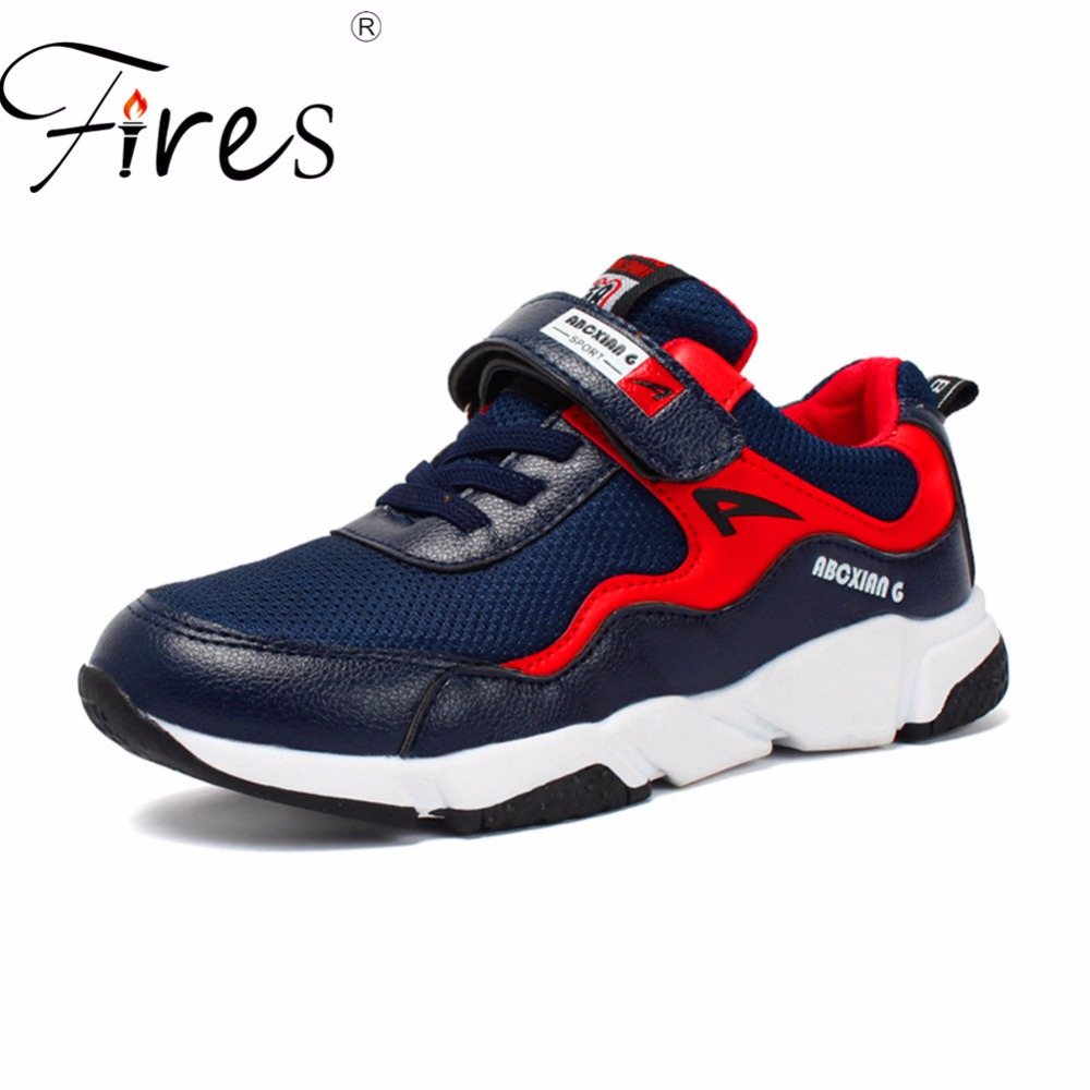 Fires Sneakers For Children Spring Comfortable Boys Running Shoes Breathable Summer Outdoor Sports Sneaker Kid Walking Shoes hot new ultra light breathable children shoes boys and girls sports shoes running shoes outdoor walking shoes fly woven coconut