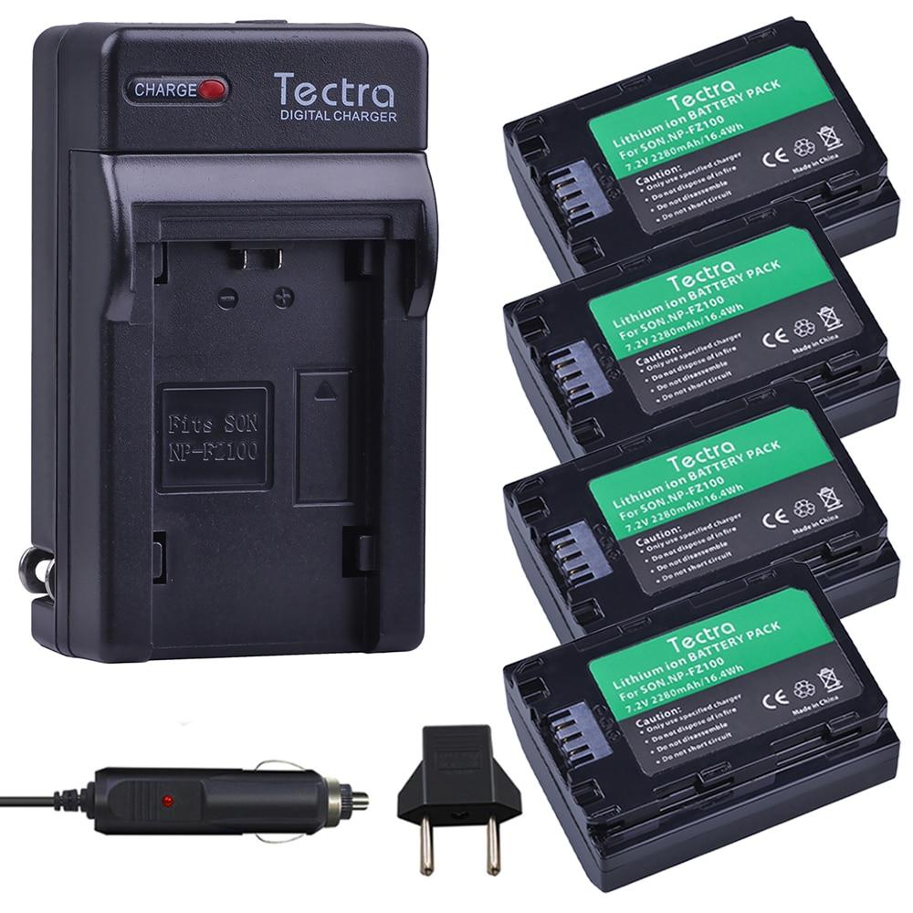 4 pcs NP FZ100 NP-FZ100 NPFZ100 battery+Digital Charger for Sony ILCE-9, BC-QZ1, a7r3, A7RIII, ILCE-7RM3, A9R, 7RM3, camera ac battery charger cradle for sony fe1 digital camera