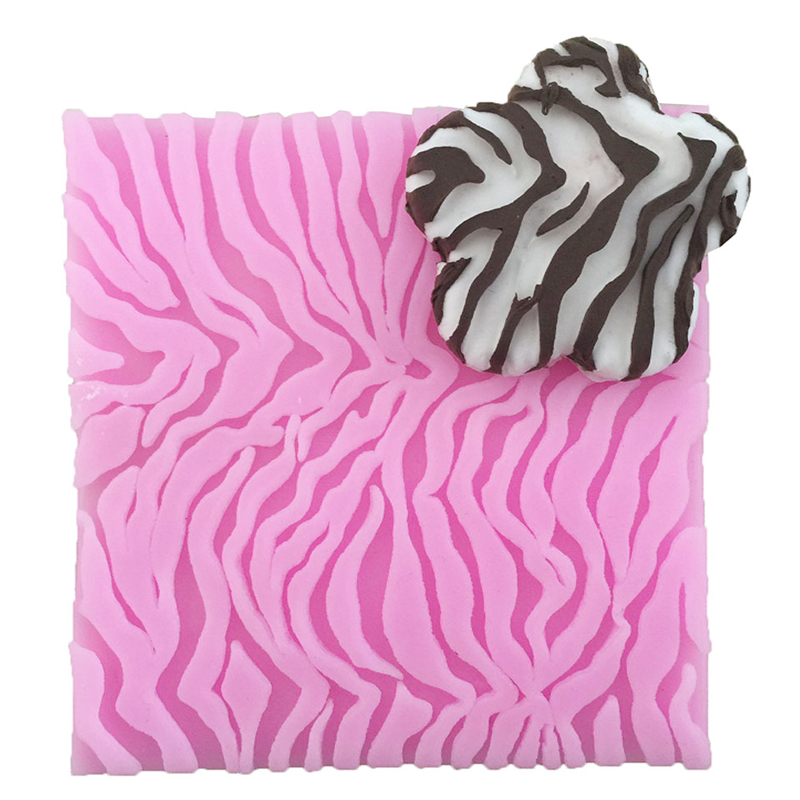 Silicone Cake Mold Leopard Embossing Mats DIY Baking Mould Stamp Fondant  Cake Decorating Tools Pastry Moulds Kitchen Accessories